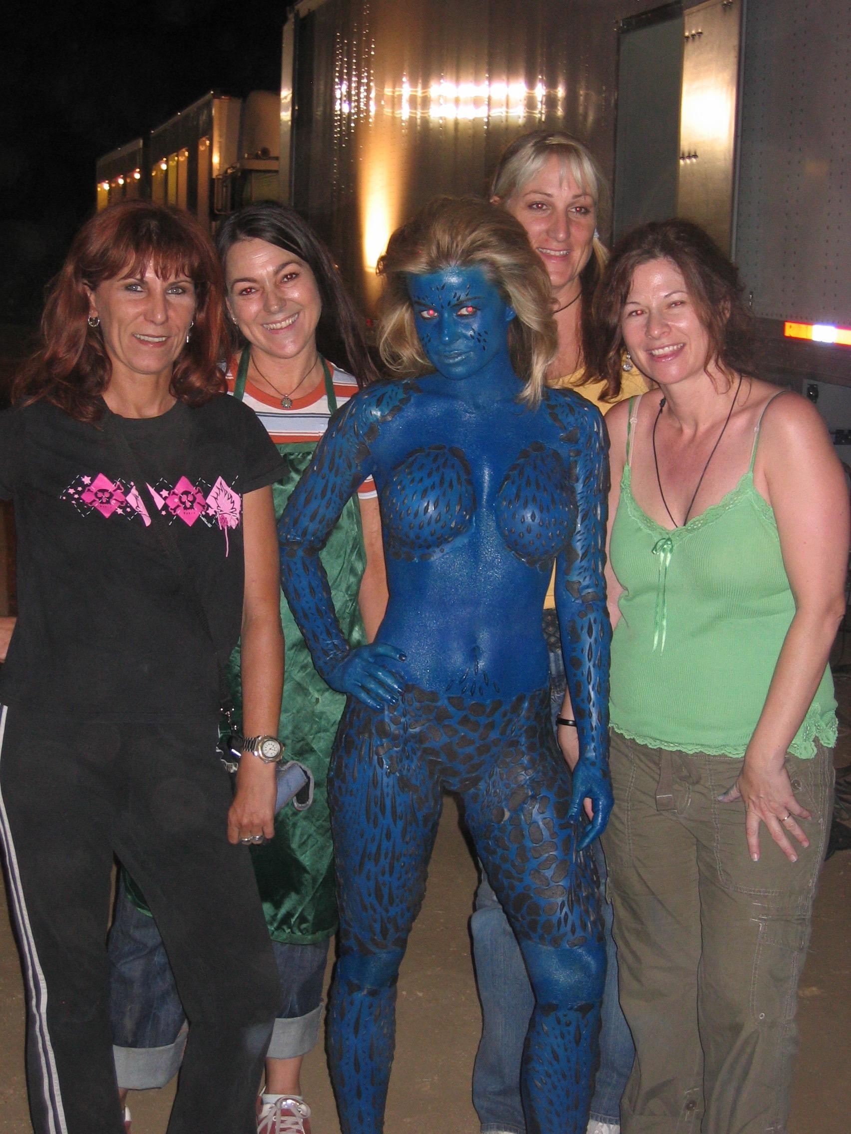 Carmen Electra's Blue Crew