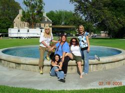 Friends fountain