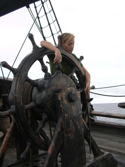 Sleeping at the helm