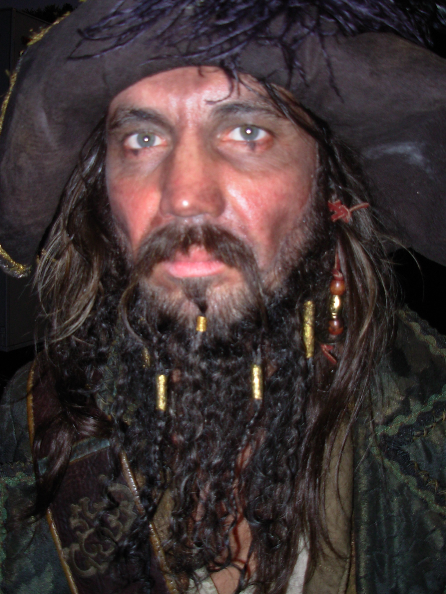 Pirate full lace beard