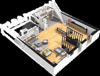 Yunika Plans 2D 3D VR AR pour biens immobiliers