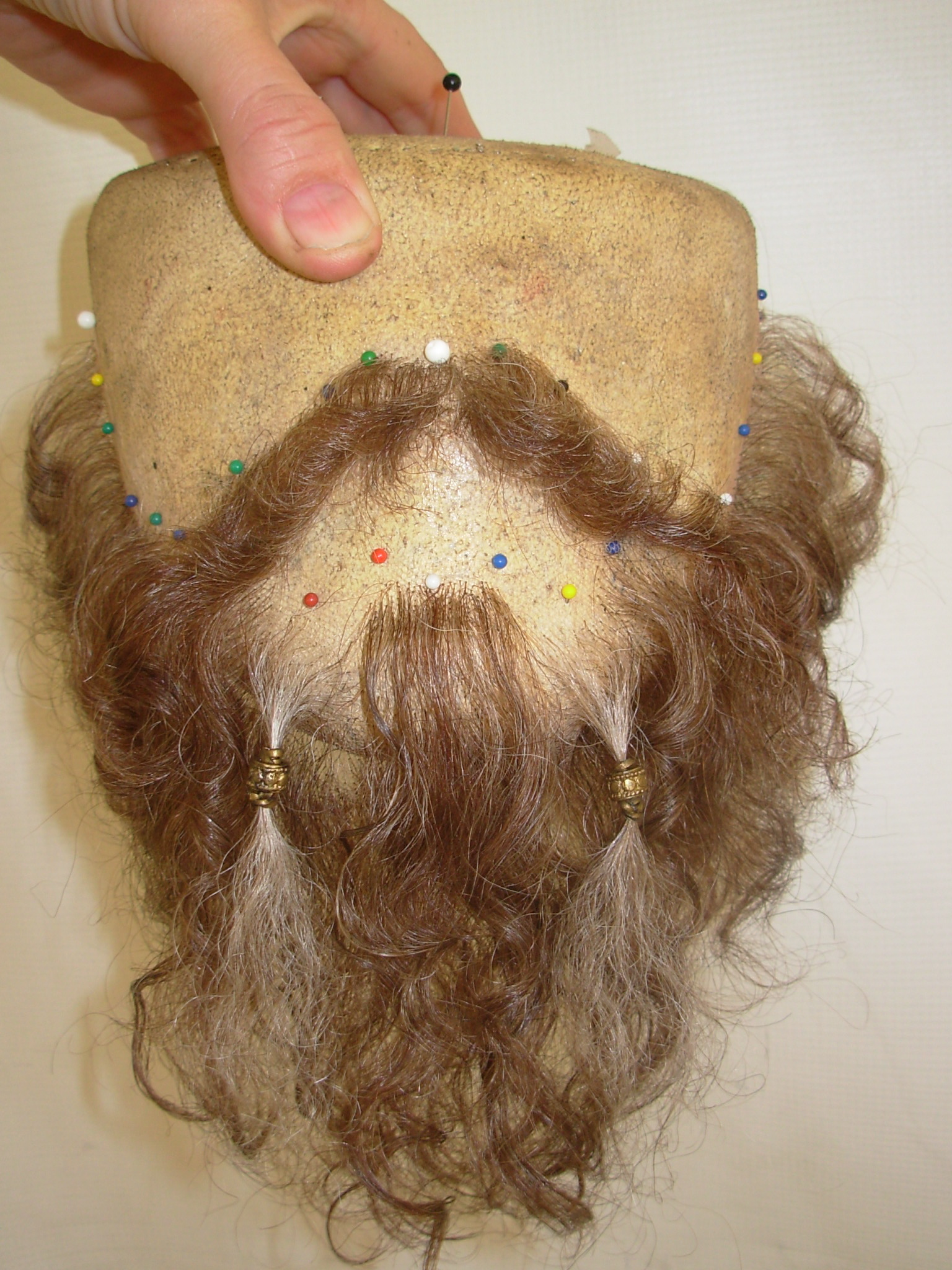 Lace beard styling