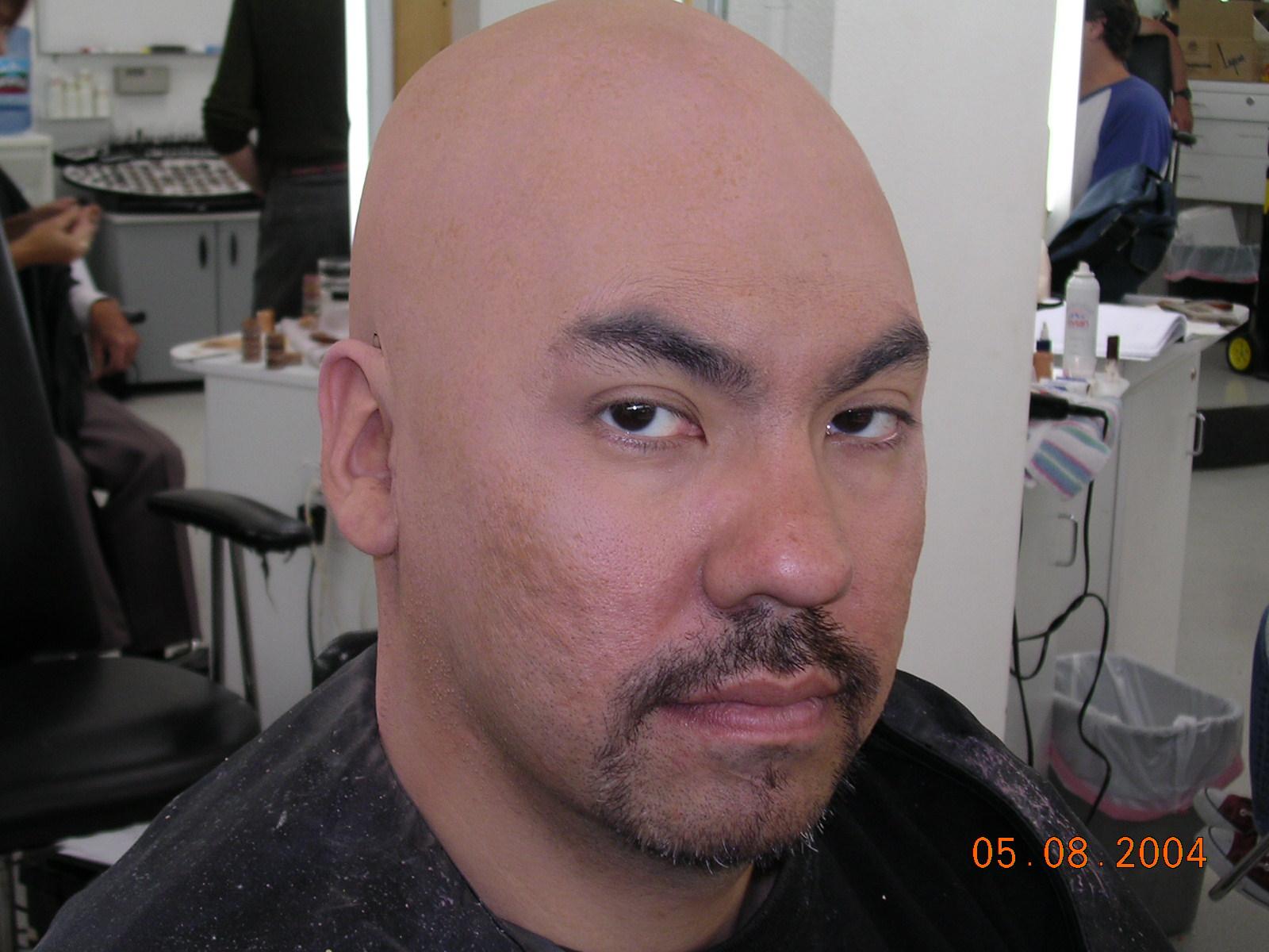 Chris After bald cap