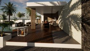 Création d'un pool house contemporain by Yunika