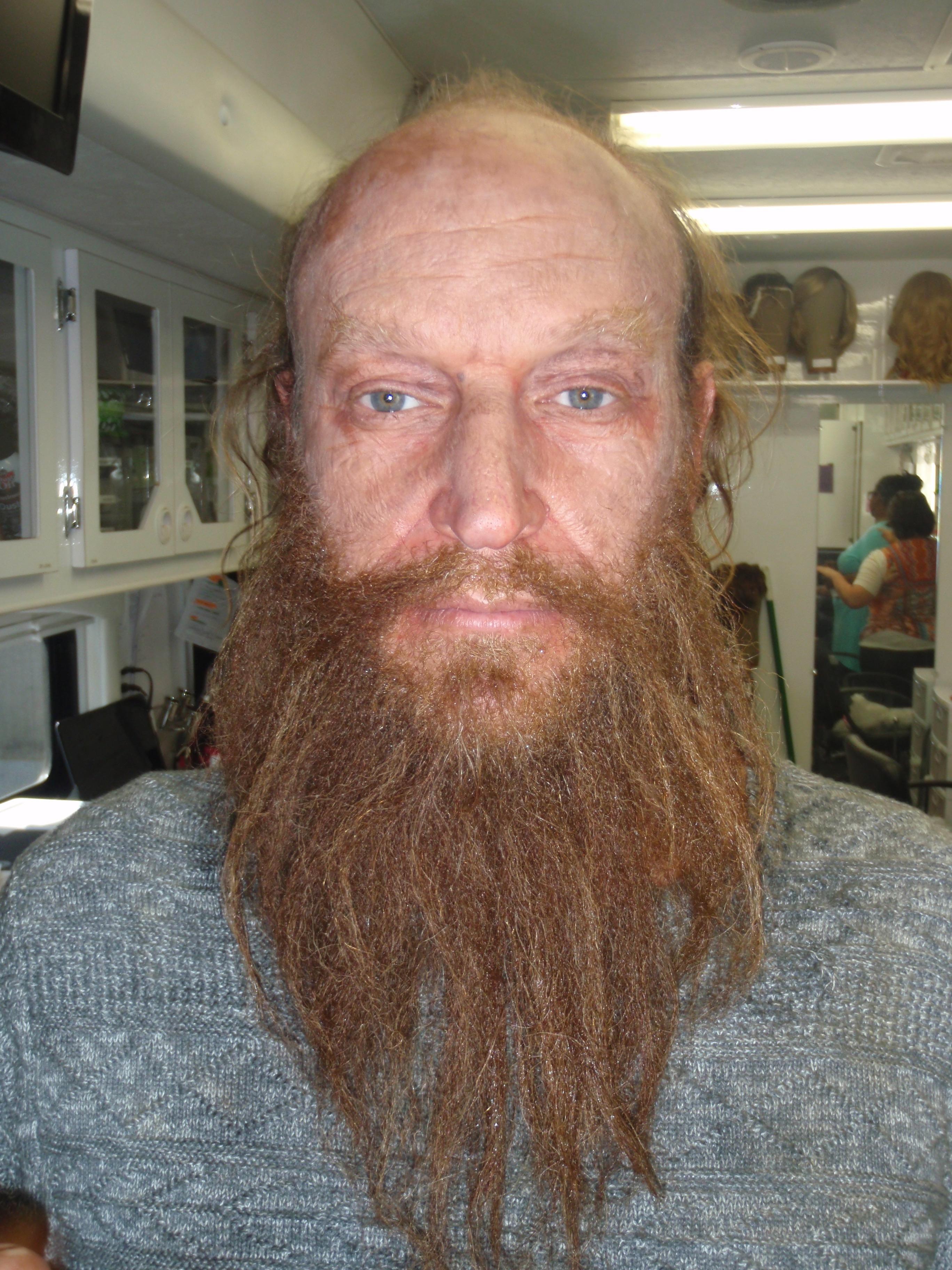 Hoffman full hand laid beard