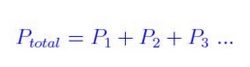 Dalton's Law Formula