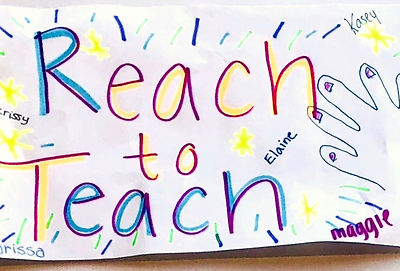 SEPT 29th & 30th EARLY CHILDHOOD.Reachto