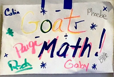 NOV 3 & 4 MATH Team Workshop.GoatMath.jp