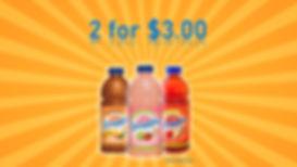 Snapple 32oz on sale at Sliders Food Mart
