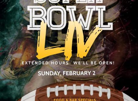 Stingers Pizza Pub Open on Super Bowl Sunday
