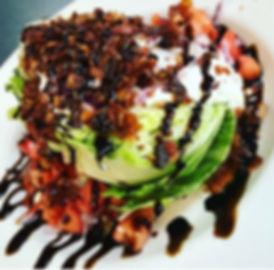 Bacon Bleu Wedge Salad at Stingers Pizza Pub