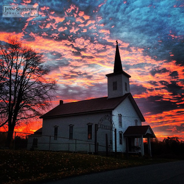 Point Rock United Methodist Chruch, photographed by Jared Sturtevant Photography