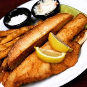 Stingers Pizza Pub Fish Fry Golden Haddock Sandwich