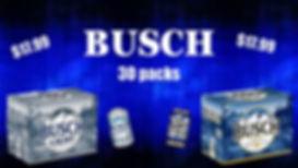 Busch 30 Packs Sale