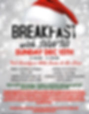 Breakfast With Santa at Stingers Pizza Pub