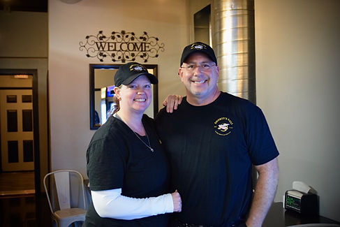 Greg and Rachael Short, owner of Shorty's Deli Camden, NY