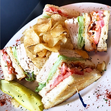 Stingers Pizza Pub Club Sandwich