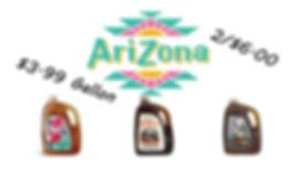 Arizona Tea on Sale at Sliders Food Mart