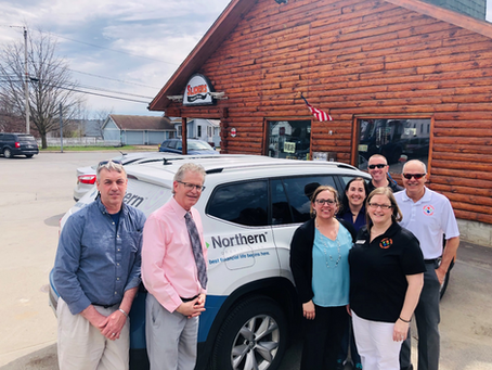 Sliders Pays it Forward with Northern Credit Union