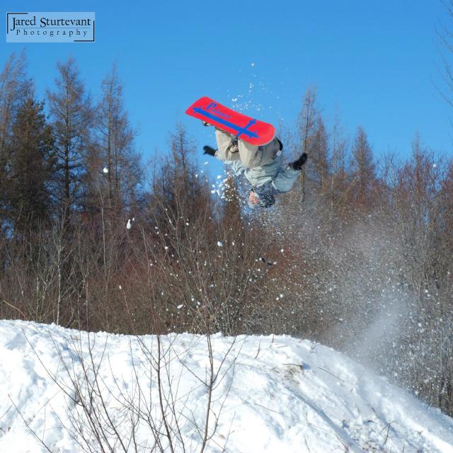 Snowboarder Flip