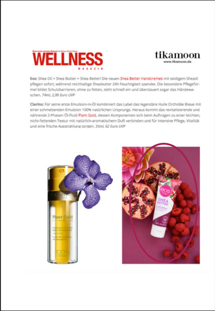 WELLNESS MAGAZIN | eos