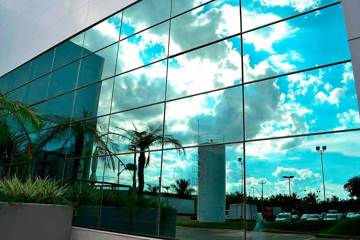 Vidro Refletivo Ou Espelhado