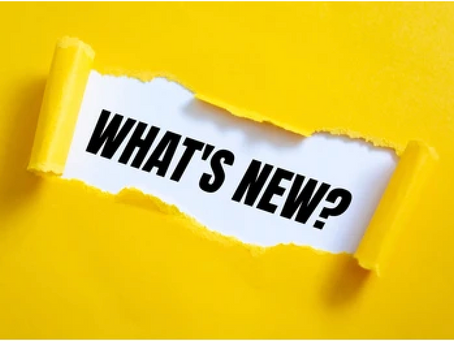 What's New? - July 2021