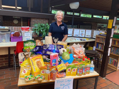 Donations from Edward Bryant School Visit