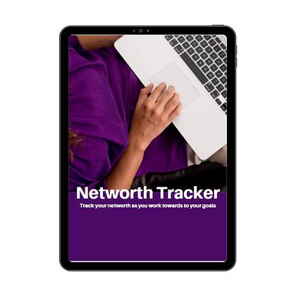 Track your Networth - Printable