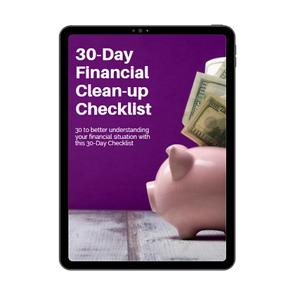 30-Day Finance Clean Up