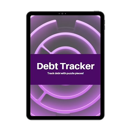 Debt Payoff Tracker - Printable