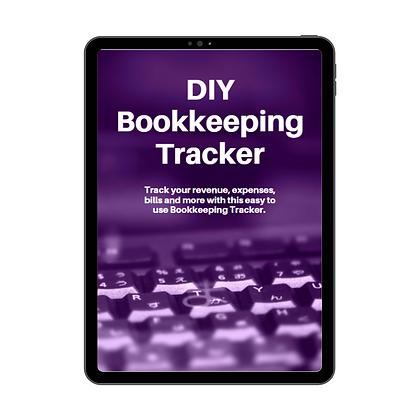 DIY Bookkeeping Tracker