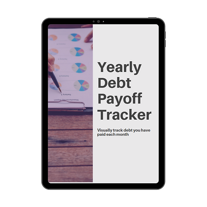 Yearly Debt Tracker - Printable