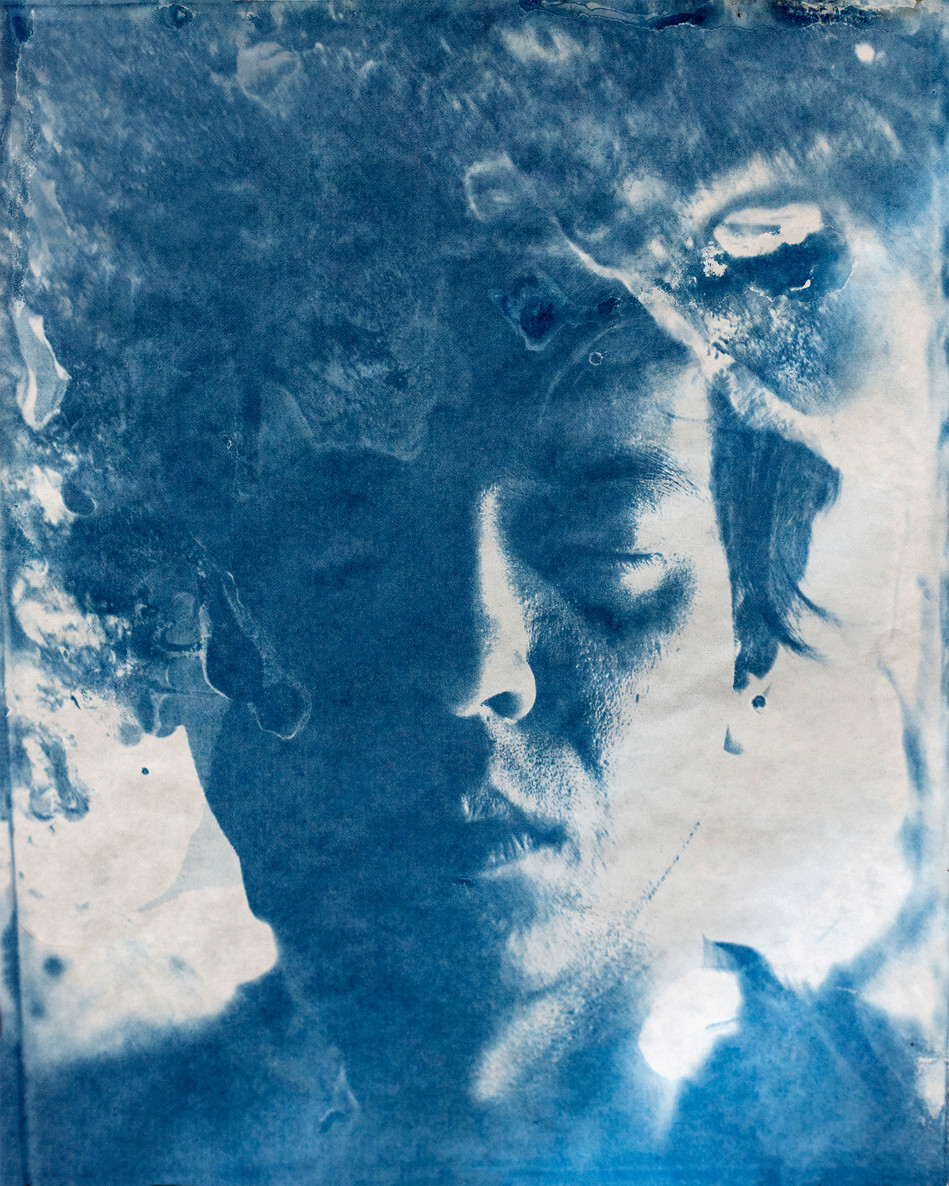 8'' x 10'' cyanotype on paper, 2016, edition of 1