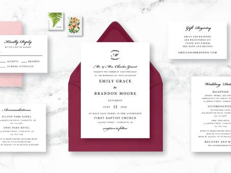 How to Save Money on Wedding Invitations