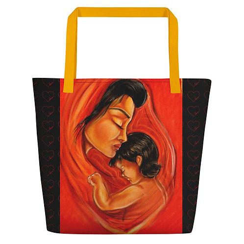 """Grand sac """" La mère et l'enfant """""""
