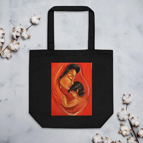 """Tote Bag BIO """" La mère et l'enfant """""""