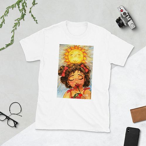 """T-shirt manches courtes """" I love SUN"""""""