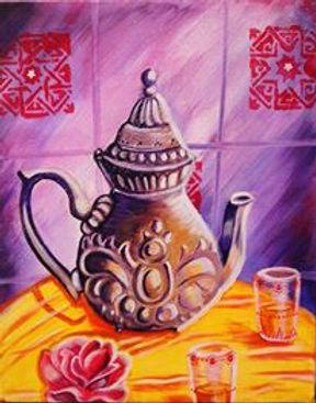 Théière marocaine 2