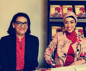 Hasna avec Fatima Chbibane.jpg