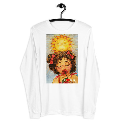 "T-shirt manches longues "" I love Sun """