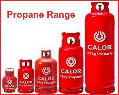 Calor Propane Bottled Range - Angus Maciver Building Supplies