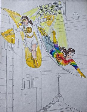 Gold Shield & Rainbow Woman.jpg