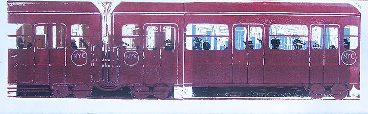 New York Subway (Dark Red).JPG