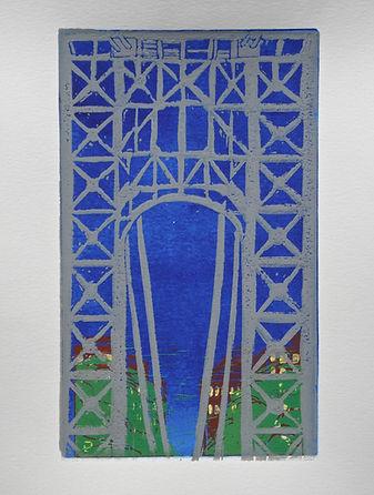 G.W. Bridge At Night.JPG