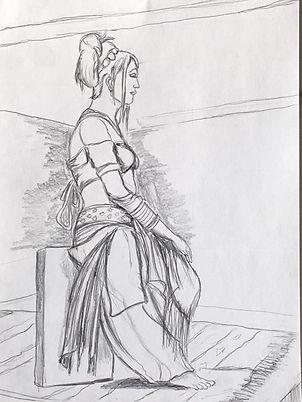 Woman Modeling (Version 1).JPG