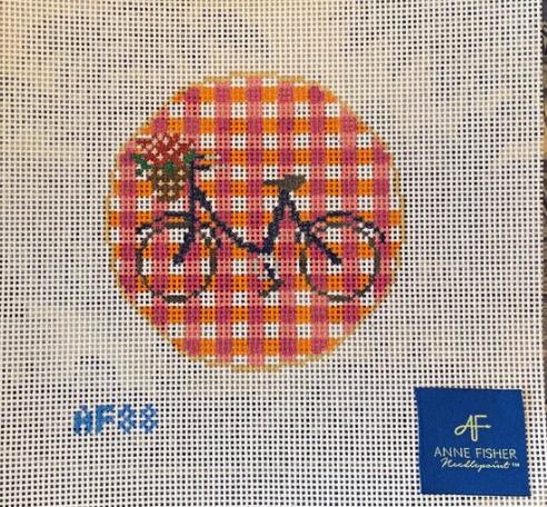 Anne Fisher 88 Gingham Bike