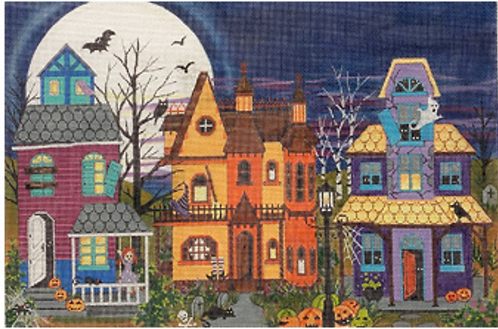 AP 4268 Halloween Houses