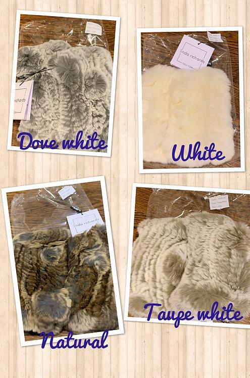Linda Richards Fingerless Fur Gloves