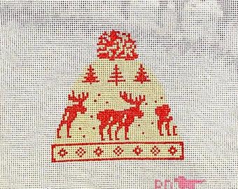 Poppy's Needlepoint McCallister Moose Hat